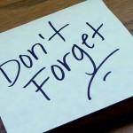 Don't forget - Improve Alzheimer's